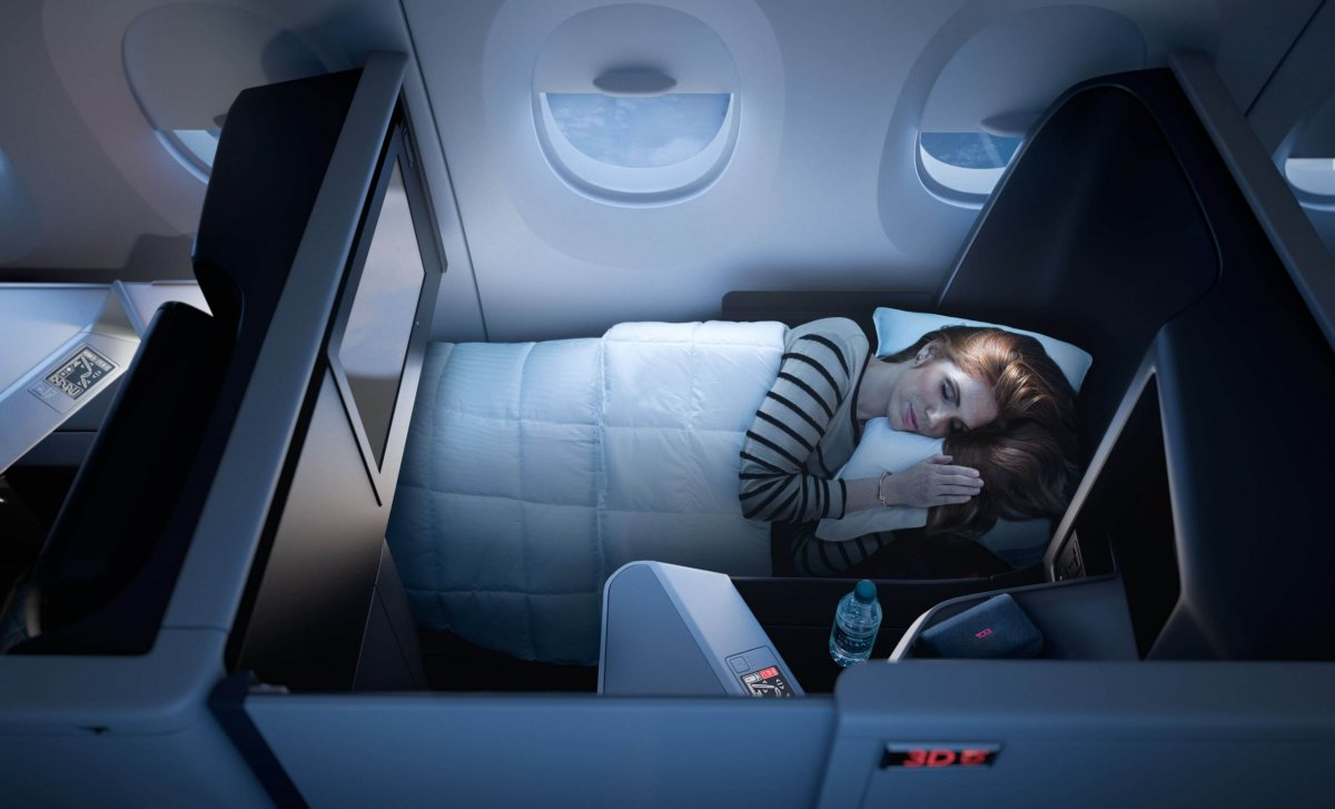 Delta Airlines – business class One Suite
