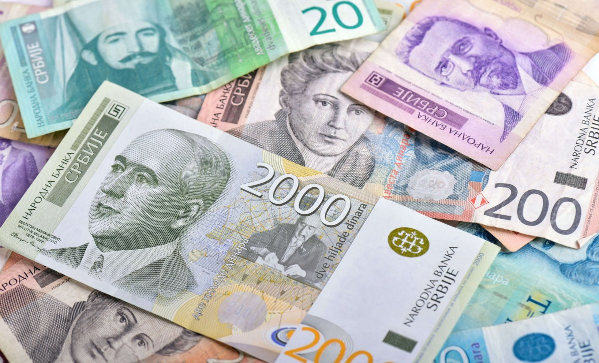 500 dinar in euro
