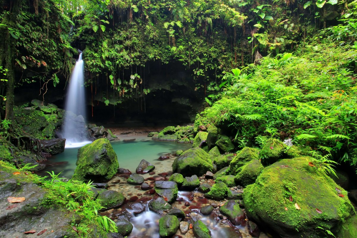 Emerald Lake Dominica