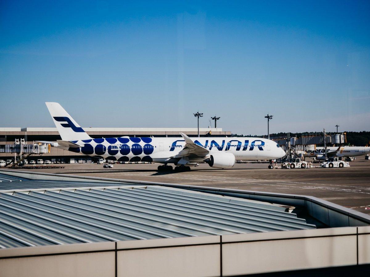 Finnair check in